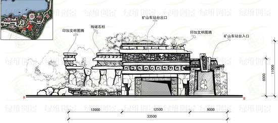 茵梦湖主题公园游乐项目-过山车效果图