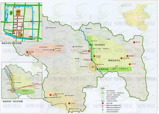 许昌市旅游布局图