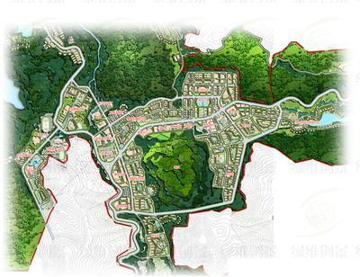 """旅游名城""""为建设目标,在空间结构"""