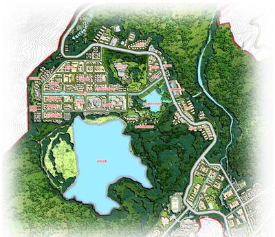 西城规划平面图