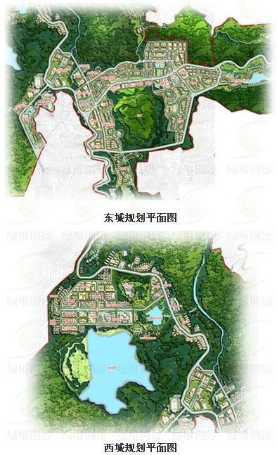 西盟佤族部分规划平面图