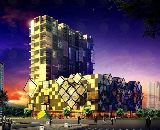 魔方建筑景观设计