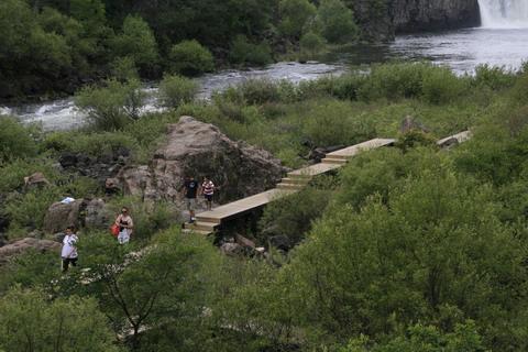 5a风景区兼世界地质公园景观设计与施工策略-镜泊湖景区景观提升设计
