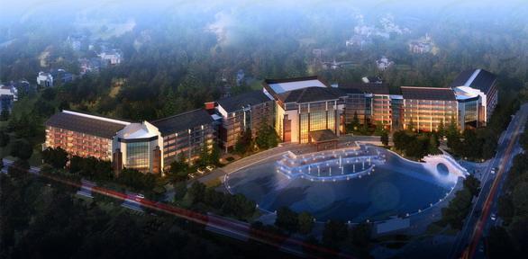 安徽齐云山酒店设计方案
