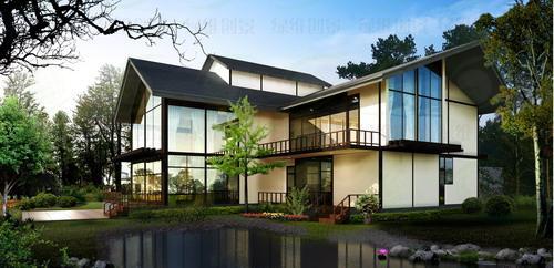 藏式别墅设计图片欣赏
