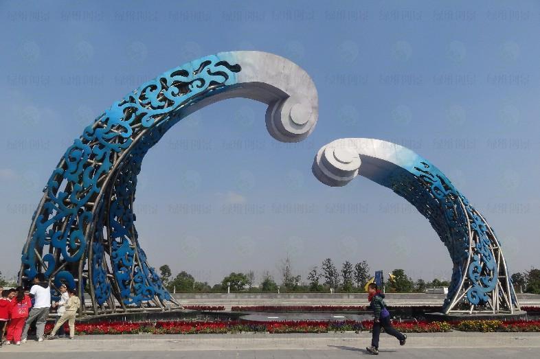 西太湖揽月湾景观雕塑设计