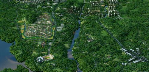 """贵阳市百花湖畔的朱昌镇作为这一论坛的永久会址,打造""""生态文明先行"""