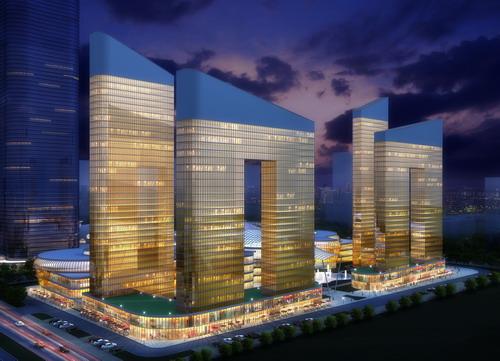 河南郑州丰庆国际广场项目概念性规划设计