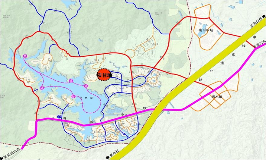 木色湖风景名胜区位于屯昌县的南部,与琼中县接壤