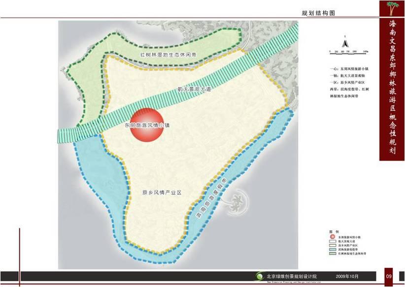 海南文昌东郊椰林旅游区总体策划及概念性规划