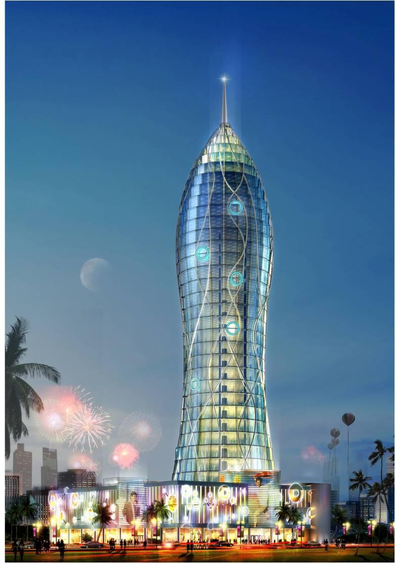建筑发射设计实例图片