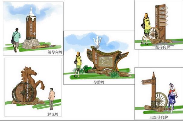 上海庙旅游风景区景观设计方案及施工图设计