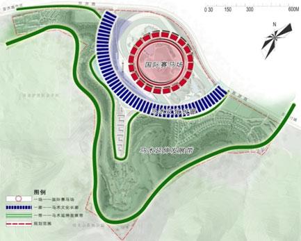 中国赛马场走出困境的全新思考 以济南国际赛马场提升策划及概念性规