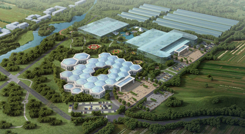 现代高效的都市农业产业示范园区