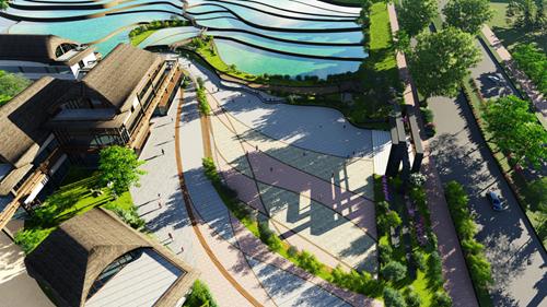 绿维文旅将以回归设计本身,传承中国文化为设计理念,创造出自然环境图片