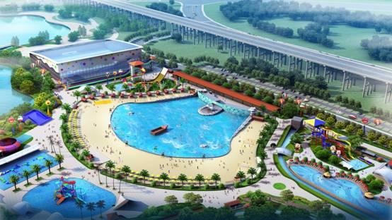 绿维IP—湖南昭山城市海景水上乐园