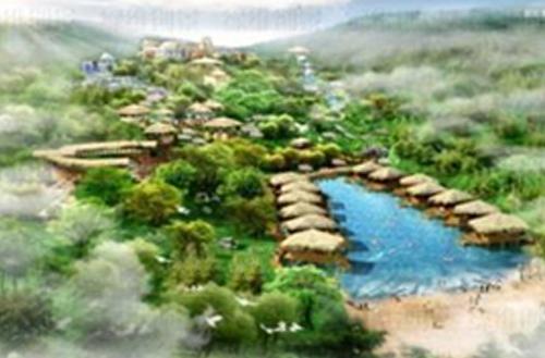 绿维案例:思拉堡温泉小镇设计