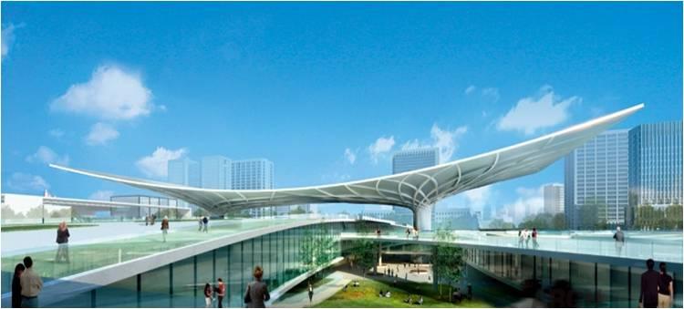 绿维研究 创意建筑设计  该项目由张家界市博物馆,城市规划馆,文化局