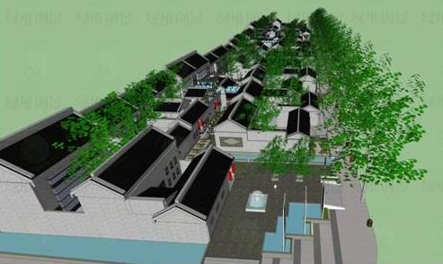 临夏市老城区规划图