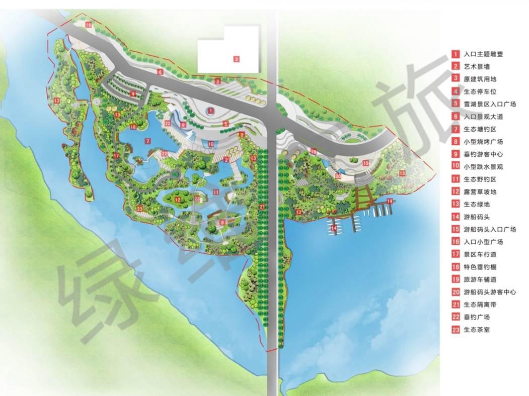 体育小镇综合开发架构
