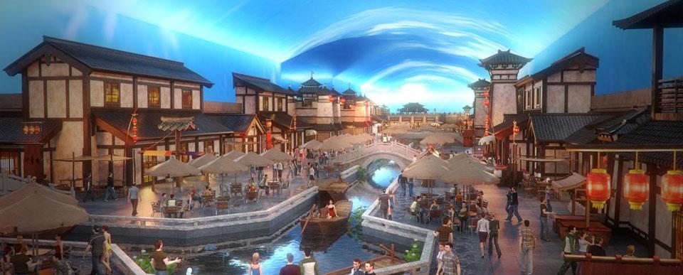 水浒文化旅游小镇