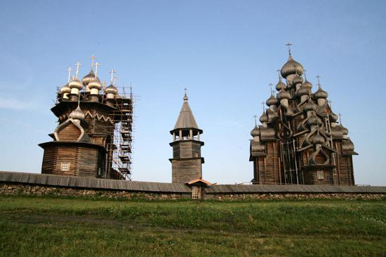 俄罗斯基日岛 没有屋顶的博物馆图片 53584 550x367