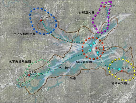 浙江千岛湖旅游区观光整合规划