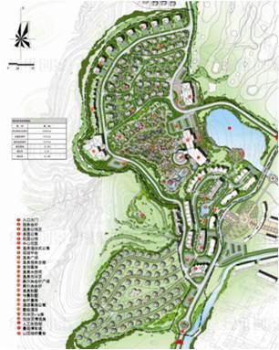 拉堡温泉小镇之规划篇 盘龙聚气 腾龙前迈第2页 绿维创景