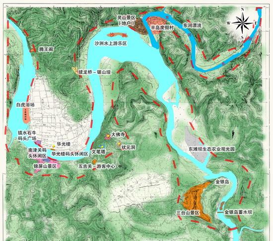 嘉陵第一江山重点项目策划