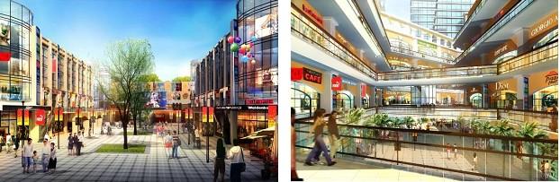 休闲商业综合体创新设计――江苏盐城金大洋城市生活广场初步方案设计