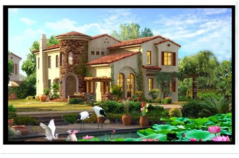 农业别墅设计图平面图
